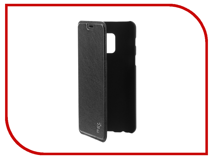 Аксессуар Чехол для Samsung Galaxy A8 2018 G-Case Slim Premium Black GG-920 g case slim premium чехол для apple iphone 7 plus black