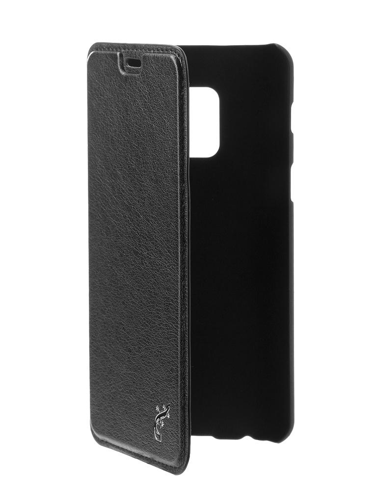 Аксессуар Чехол G-Case Slim Premium для Samsung Galaxy A8 2018 Black GG-920 чехол g case slim premium для samsung galaxy j8 2018 gg 984 черный