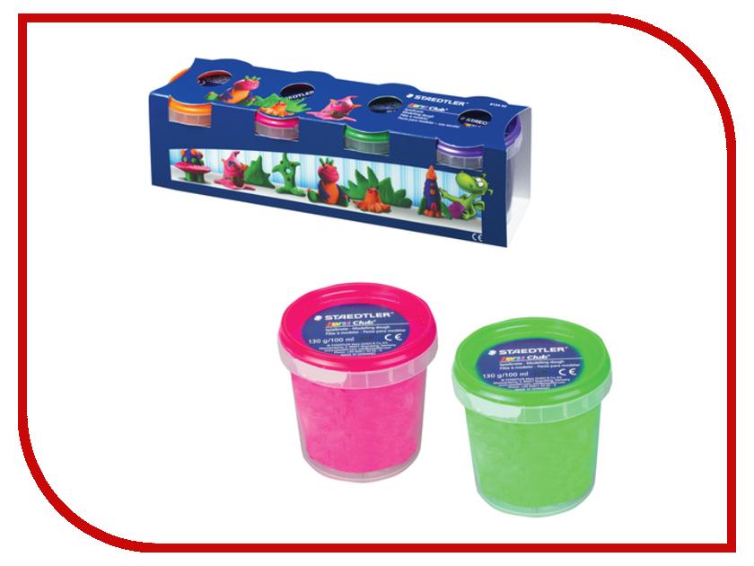 Набор для лепки Staedtler пластилин 4 цвета 520g 104326 набор для лепки фантазер глина голубая 217011