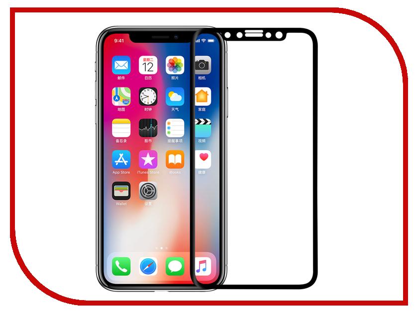Аксессуар Защитное стекло Nillkin 3D CP+Max для APPLE iPhone X CP+MAX-SP AP-IPHONE X аксессуар защитное стекло activ 3d gold для apple iphone 7 69556