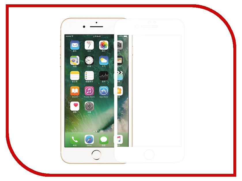 Аксессуар Защитное стекло Nillkin 3D CP+Max для APPLE iPhone 7 Plus/8 Plus White CP+MAX-SP AP-IPHONE7 PLUS оригинальный samsung galaxy s8 s8 plus nillkin 3d ap pro полноэкранный экранный протектор экрана