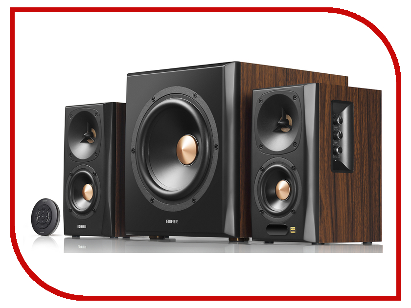 Колонка Edifier S360DB Brown цена