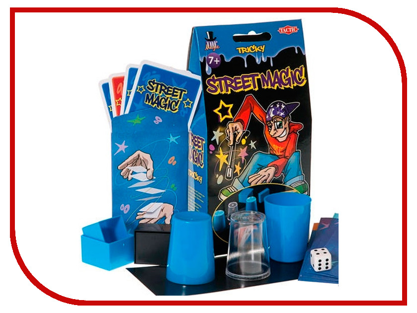 Tactic Уличная магия Blue 01910N