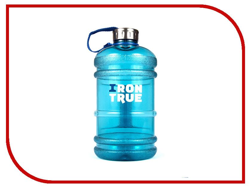 Бутылка Irontrue ITB931-2200 2.2L Light Blue бутылка спортивная irontrue цвет черный красный 2 2 л itb931 2200