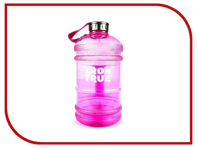 Бутылка Irontrue ITB931-2200 2.2L Pink бутылка спортивная irontrue цвет черный красный 2 2 л itb931 2200