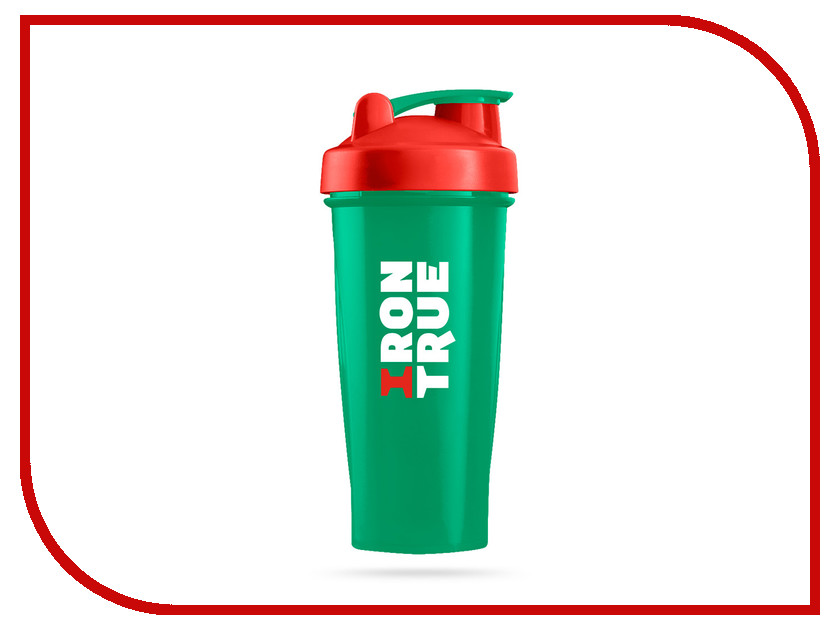 Шейкер Irontrue ITS901-600 700ml Green-Red-Green шейкер sport elite sh 210 700ml light green