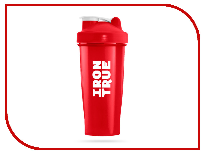 Шейкер Irontrue ITS901-600 700ml Red шейкер sport elite sh 210 700ml light green