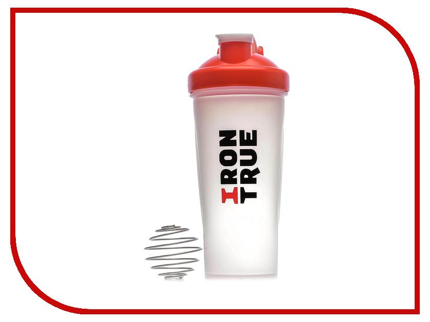 Шейкер Irontrue ITS901-600 700ml Red-White шейкер sport elite sh 210 700ml light green