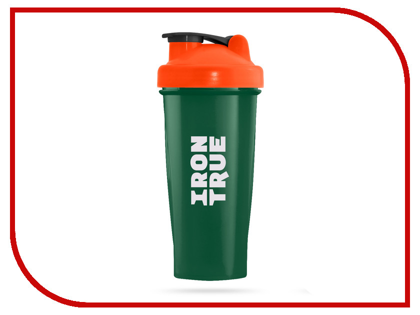Шейкер Irontrue ITS901-600 700ml Orange-Green шейкер sport elite sh 210 700ml light green