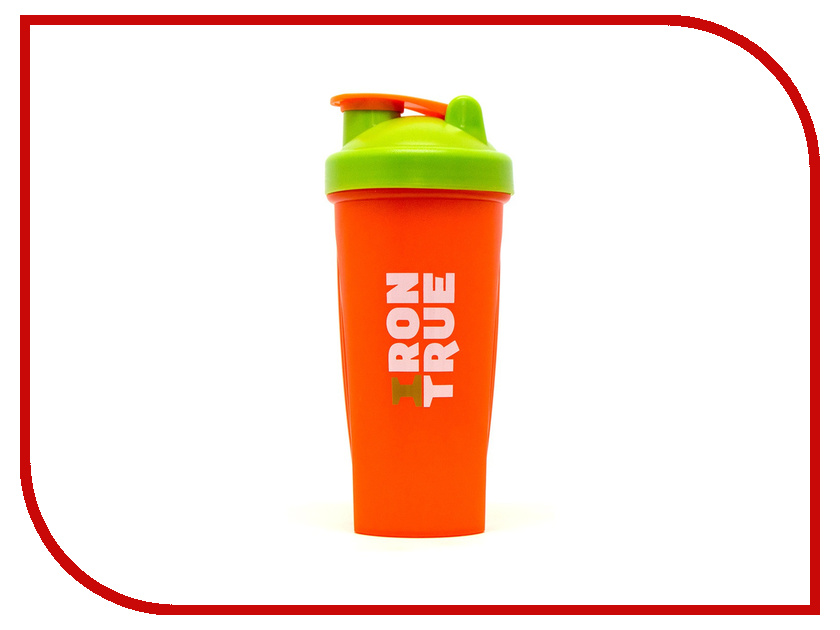 Фото Шейкер Irontrue ITS901-600 700ml Orange-Green-Orange