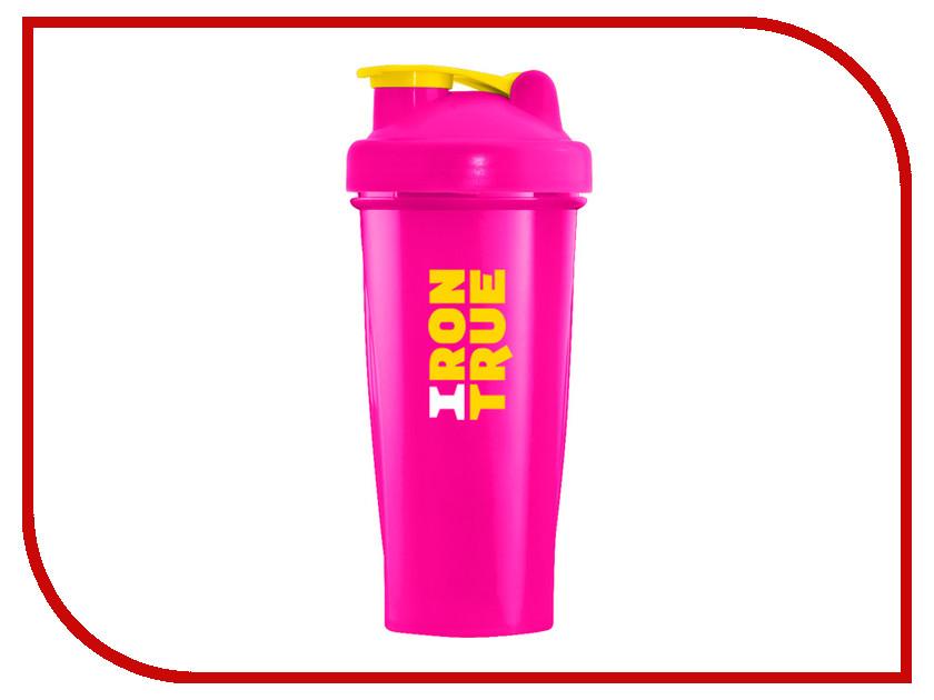 Шейкер Irontrue ITS901-600 700ml Pink шейкер sport elite sh 210 700ml light green
