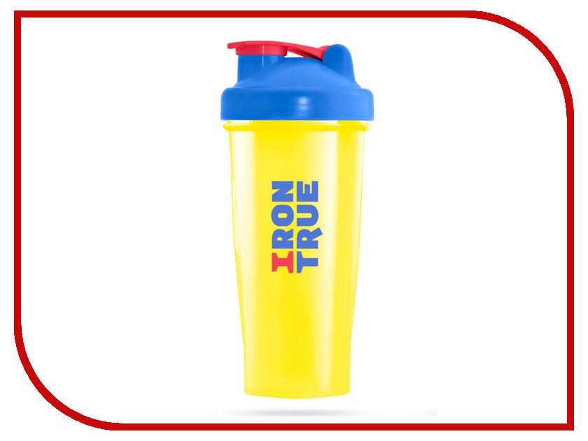 Шейкер Irontrue ITS901-600 700ml Blue-Yellow шейкер sport elite sh 210 700ml light green