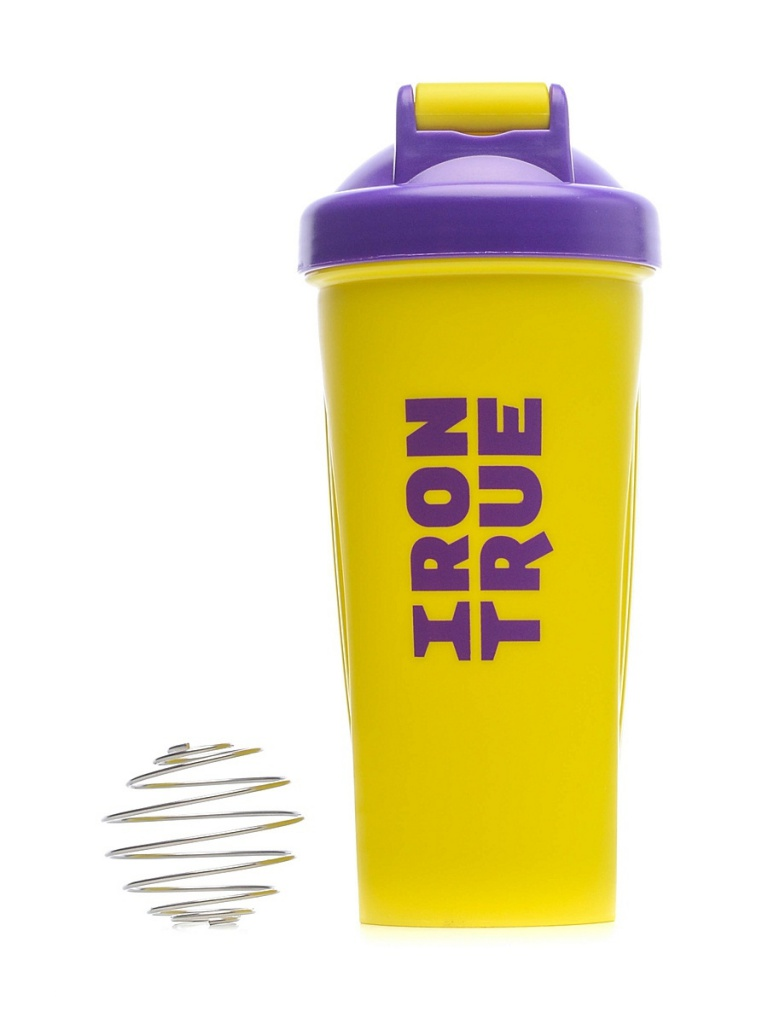 Шейкер Irontrue ITS901-600 700ml Purple-Yellow