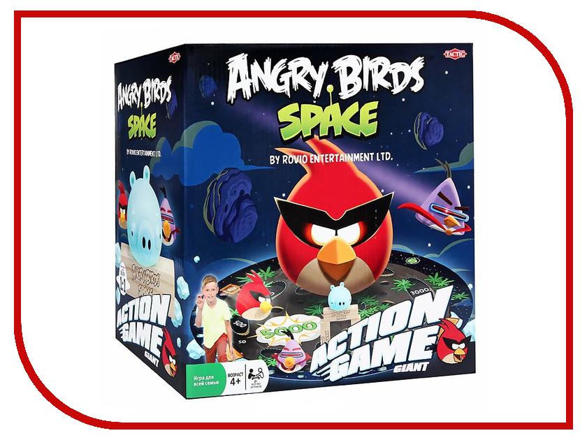 Настольная игра Tactic Angry Birds Космос 40833N angry birds игра детская сердитые птички дартс мяч лизун в наборе