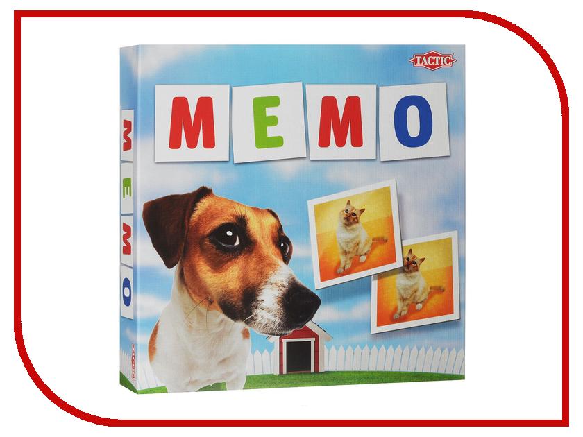 Настольная игра Tactic Мемо Животные 2 41439 игра tactic games мемо дикие животные 2
