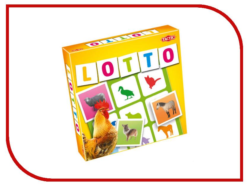 Настольная игра Tactic Лото Домашние животные 2 41449 феникс игра развивающее лото дикие и домашние животные
