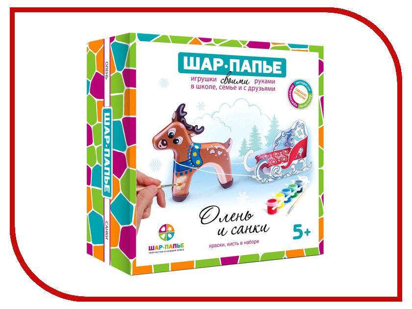 Набор Шар-Папье Олень и санки B02943T