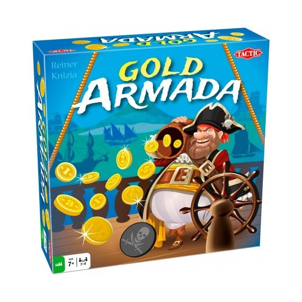 купить Настольная игра Tactic Золотая армада 54553 по цене 791 рублей