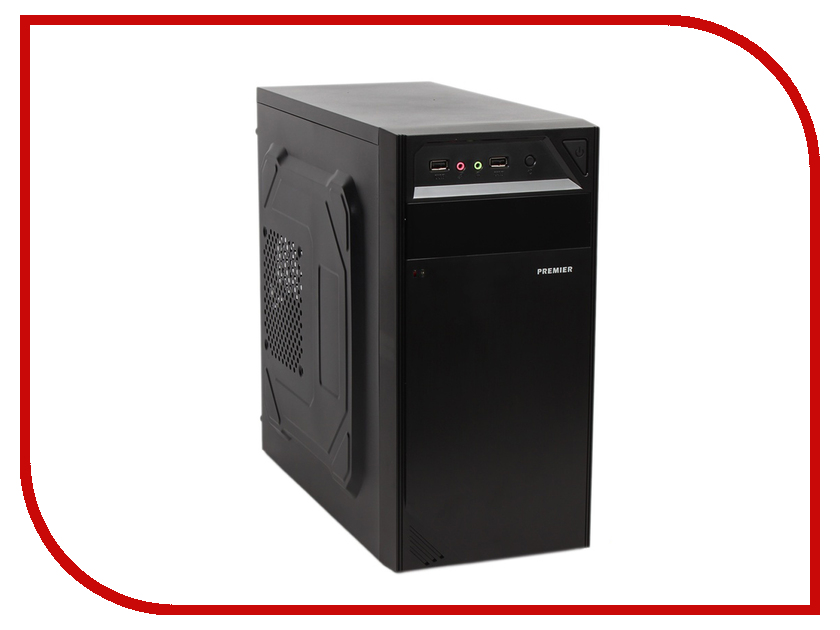 Корпус SunPro Premier II mATX 450W Black 0359340