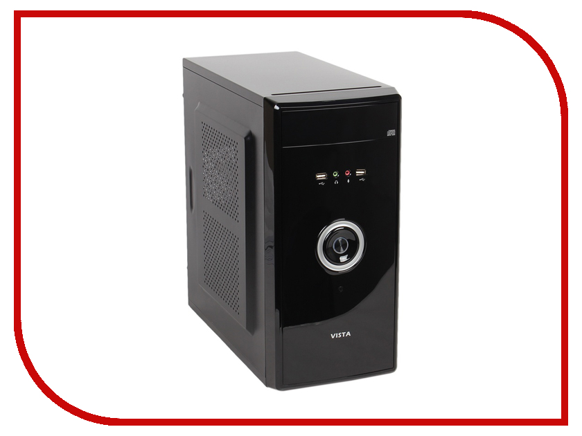 Корпус SunPro Vista V mATX 450W Black 0359332