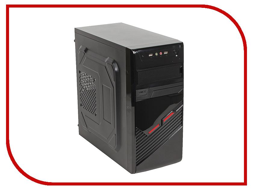 Корпус SunPro Vista II mATX 450W Black 0301480