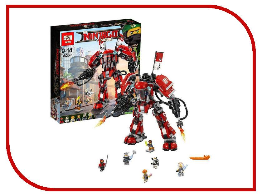 Конструктор Lepin Огненный робот Кая 1010 дет. 06052 конструктор lepin ninjasaga робот гарм 777 дет 06060