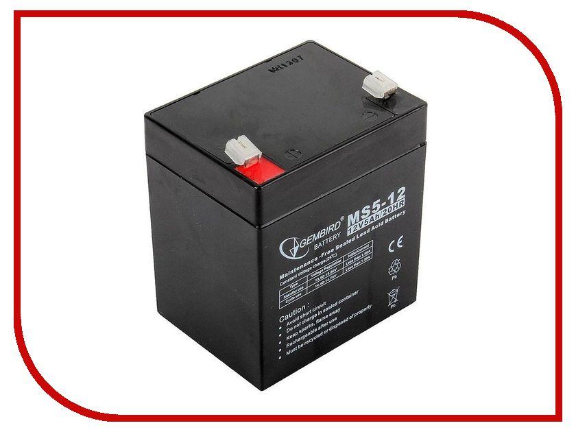 Аккумулятор для ИБП Gembird Energenie BAT-12V5AH