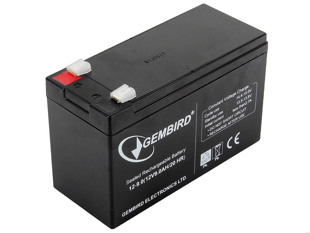 Аккумулятор для ИБП Gembird Energenie BAT-12V9AH аккумулятор для ибп ventura gpl 12 120