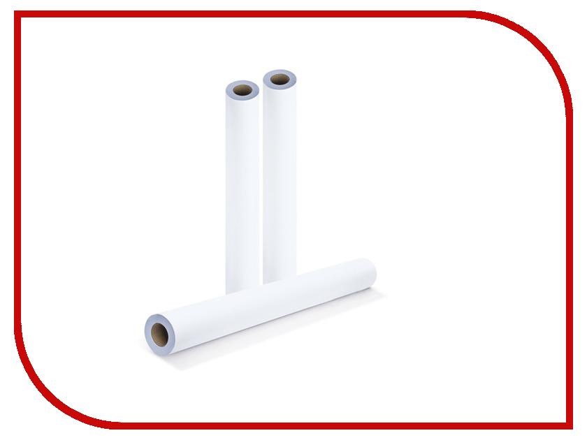 Бумага Brauberg Рулон для плоттера 841mm x 175m втулка 76mm 80g/m2 110457 от Pleer