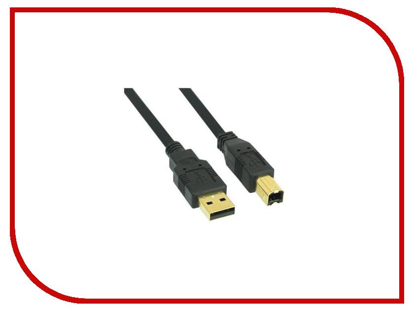 Аксессуар Konoos USB 2.0 Pro AM-BM 3.0m Black KC-USB2-AMBM-3 кабель microusb 1м konoos круглый kc musb3ng