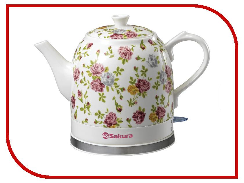 Чайник Sakura SA-2000R электробритва sakura sa 5415bl