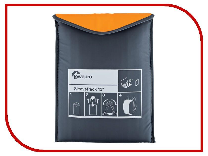 Аксессуар Сумка-рюкзак Lowepro SleevePack 13 Orange-Grey