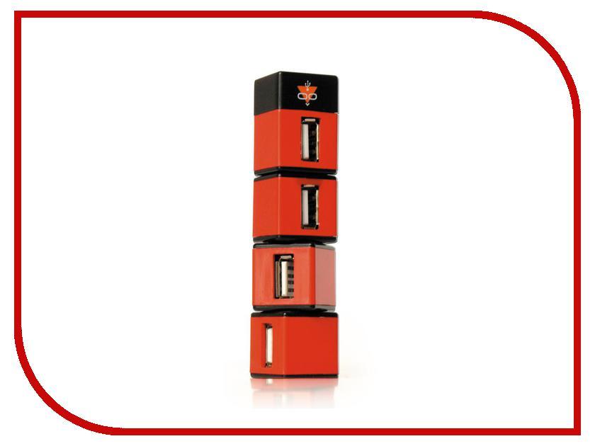 Хаб USB Konoos UK-05 Небоскреб 4xUSB 2.0