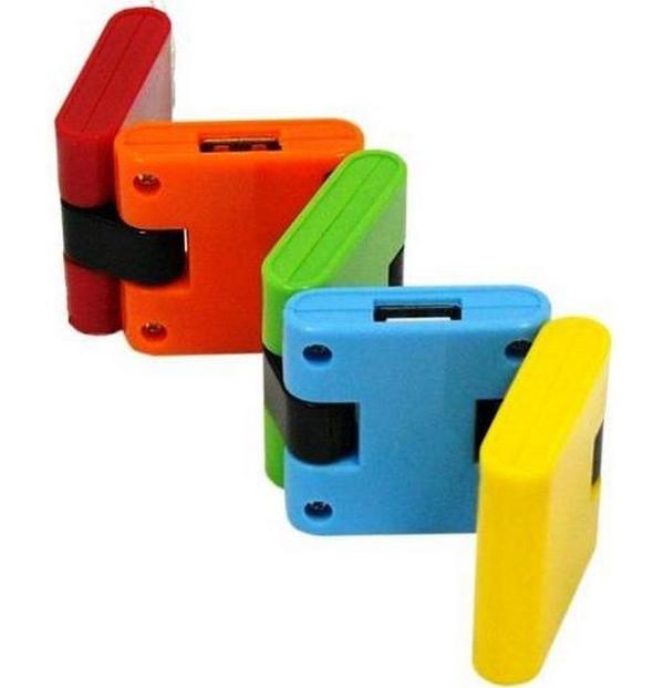 Хаб USB Konoos UK-06 Конструктор 4xUSB 2.0