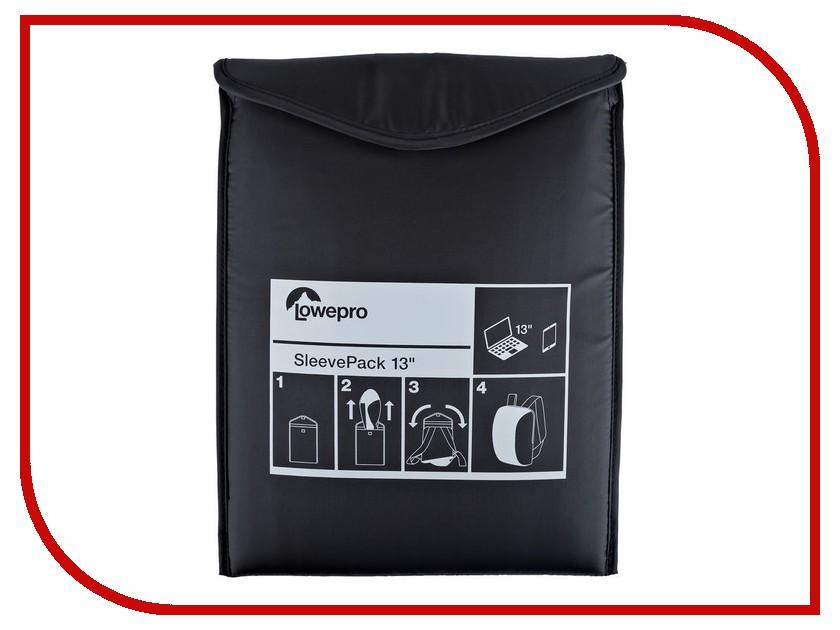 Аксессуар Сумка-рюкзак Lowepro SleevePack 13 Black рюкзак lowepro passport duo black black 84465