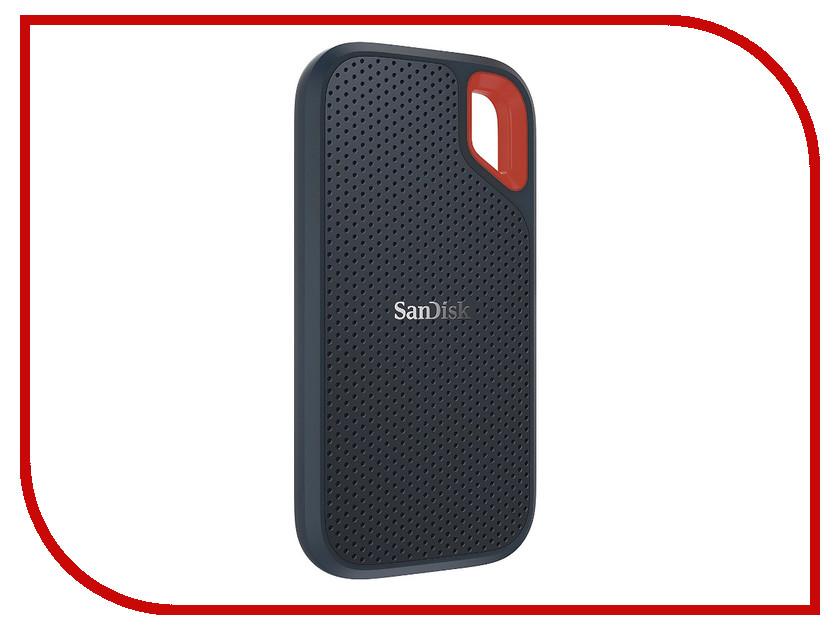 Жесткий диск SanDisk Extreme Portable 1Tb SDSSDE60-1T00-G25 жесткий диск 500gb sandisk extreme pro m 2 nvme 3d sdssdxpm2 500g g25