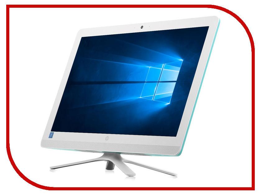Моноблок HP 24-g110ur Dreamy Teal Y0Z64EA (Intel Pentium J3710 1.6 GHz/4096Mb/1000Gb/DVD-RW/Intel HD Graphics/Wi-Fi/Bluetooth/Cam/23.8/1920x1080/Windows 10 Home 64-bit)