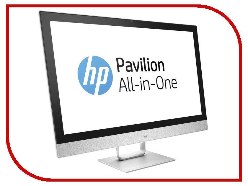 Моноблоки 27-r009ur  Моноблок HP Pavilion 27-r009ur Blizzard White 2MJ69EA (Intel Core i5-7400T 2.4 GHz/8192Mb/1000Gb+16Gb SSD/DVD-RW/AMD Radeon 530 2048Mb/Wi-Fi/Bluetooth/Cam/27.0/1920x1080/Windows 10 Home 64-bit)
