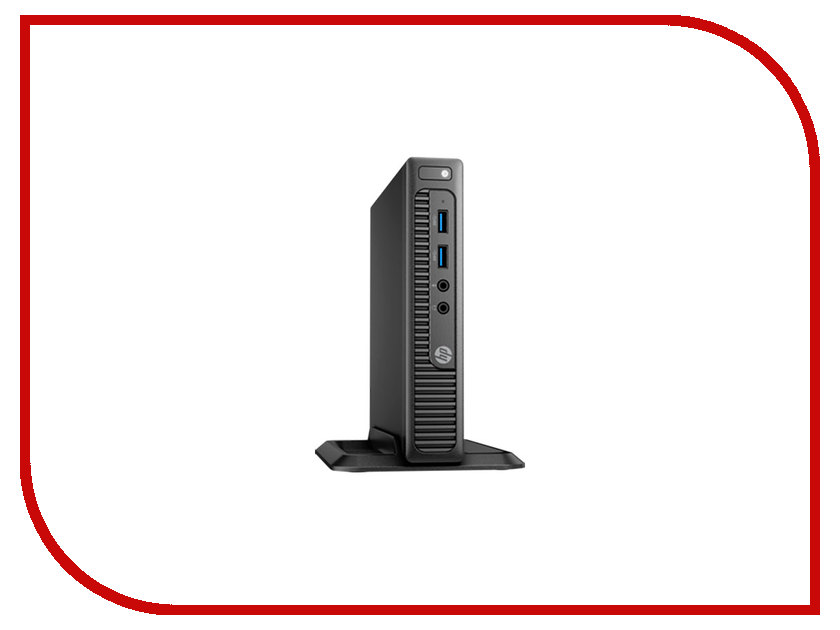 Настольный компьютер HP 260 G2 Mini Black 2TP09EA (Intel Core i3-6100U 2.3/4096Mb/500Gb/Intel HD Graphics/Wi-Fi/Bluetooth/DOS)