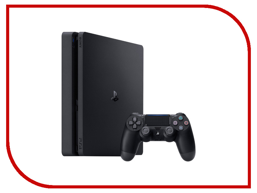 Игровая приставка Sony PlayStation 4 1TB Slim CUH-2108B + FIFA 18 + 14Day игровая консоль playstation 4 slim 1tb cuh 2108b call of duty world war ii