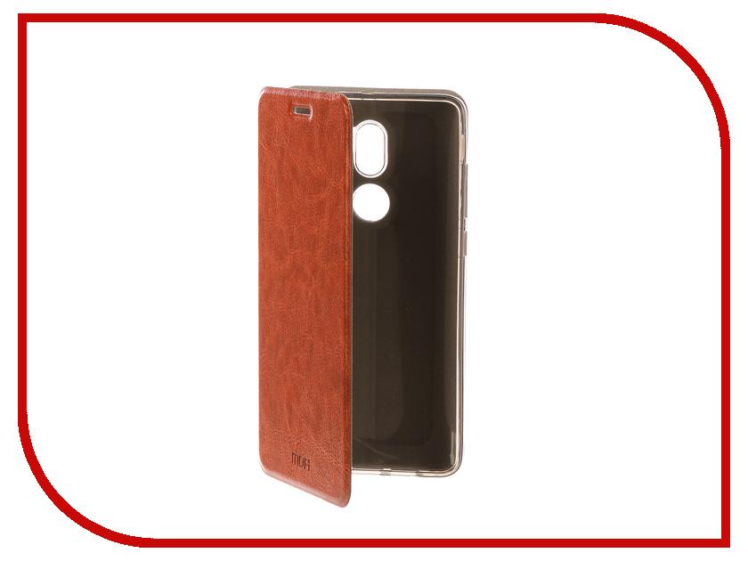 Аксессуар Чехол Xiaomi Mi5s Plus Mofi Vintage Brown 15130 mofi защитный чехол для xiaomi 6 plus