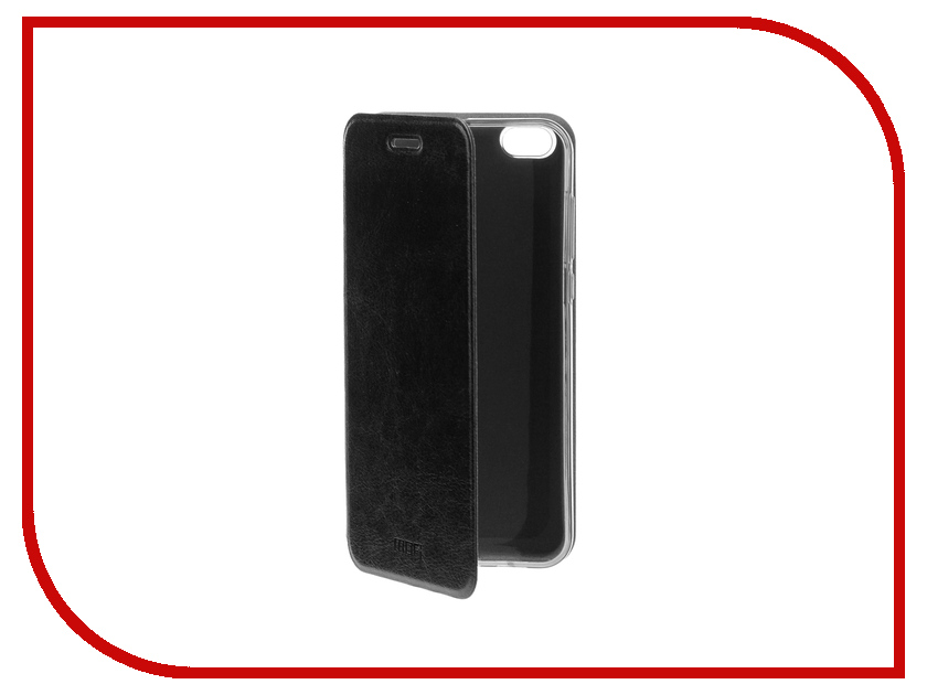 Аксессуар Чехол Xiaomi Mi5c Mofi Vintage Black 15126 mofi защитный чехол для xiaomi 6 plus