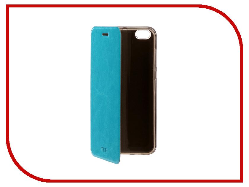 Аксессуар Чехол Xiaomi Mi5c Mofi Vintage Light Blue 15125 mofi защитный чехол для xiaomi 6