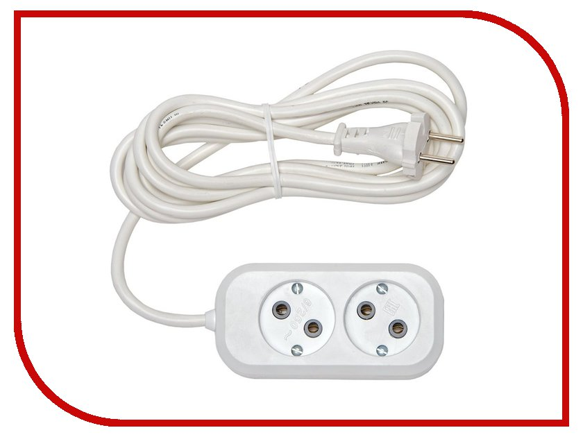 Удлинитель Rucelf 2 Sockets 2m RU-02-210-02S