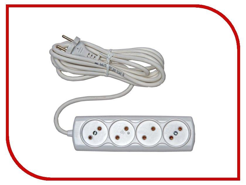 Удлинитель Rucelf 4 Sockets 2m RU-04-210-02S удлинитель makel 3 sockets 2m mgp132