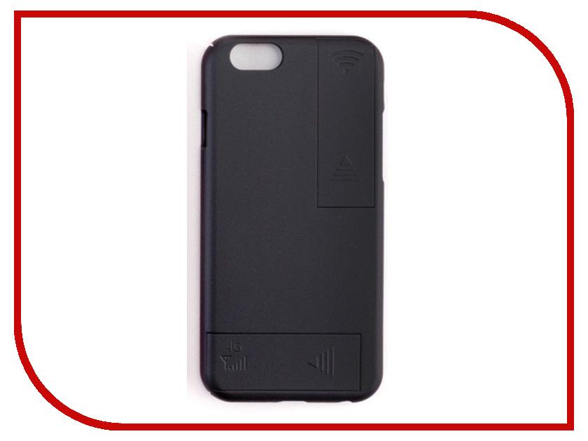 Аксессуар Чехол с антеннами Gmini для iPhone 6 Plus/6S Plus Black GM-AC-IP6PBK