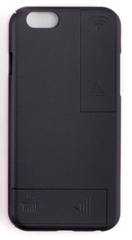 Аксессуар Чехол с антеннами Gmini для APPLE iPhone 6 Plus / 6S Plus Black GM-AC-IP6PBK аксессуар чехол ipapai для iphone 6 plus ассорти морской