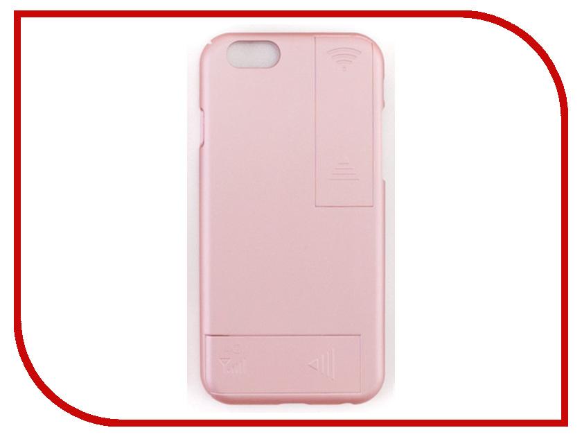 Аксессуар Чехол с антеннами Gmini для iPhone 6 Plus/6S Plus Rose Gold GM-AC-IP6PRG 2017 чехол бампер draco 6 plus для iphone 6 plus champagne gold dr6p0a1 gdl
