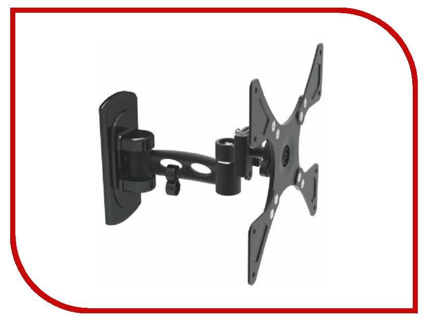Кронштейн MetalDesign MD-3342 (до 25кг) Black кронштейн mart 101s черный для 10 26 настенный от стены 18мм vesa 100x100 до 25кг