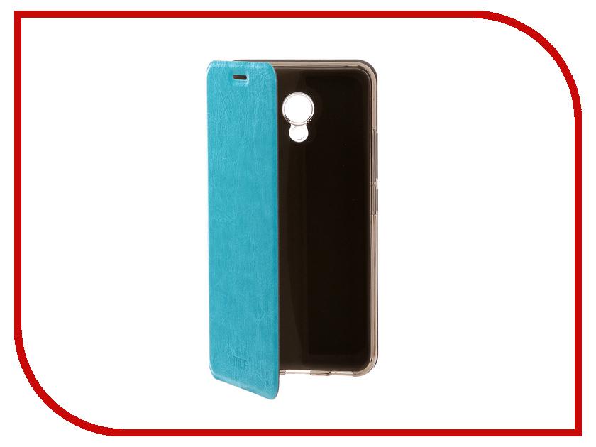 Аксессуар Чехол для Meizu M5 Mofi Vintage Light Blue 15069 аксессуар чехол nokia 6 mofi vintage black 15546
